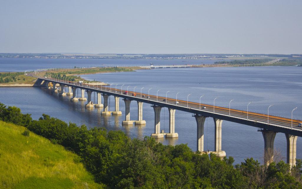 мост через каму фото